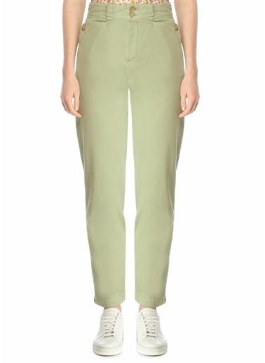 Etro Etro  Normal Bel Boru Paça Pantolon 101617965 Yeşil